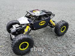 Batman Radio Remote Control Car 2.4ghz Off Road 4wd Rock Crawler