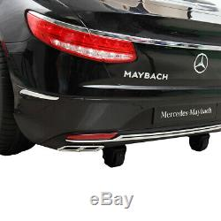 Benz Maybach 12V Kids Ride On Car Electric Toy withRadio Music Remote Control