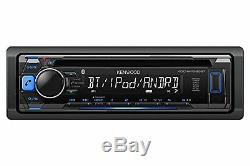 Bluetooth Car Stereo Receiver CD MP3 WMA Player AM/FM Radio USB/SD AUX-IN Remote