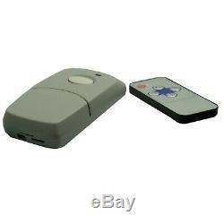Bush Baby Stealth Car Wireless Garage Door Remote Opener With 1080P HD Camera