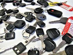 CAR TRUCK KEY LOT Keyless Entry Key Fob Remote Smart Key Vintage OEM Transmitter