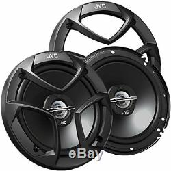 Car Audio Package 4 Speakers with Remote Stereo Radio CD MP3 Receiver system