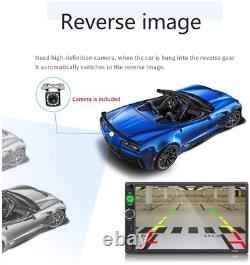 Car Stereo Touch Screen With Remote Backup Reverse Camera Bluetooth Radio SD USB