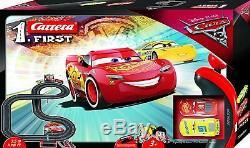 Cars 3 RC IR Radio Remote Control Slot Car Race Track Lightning Mcqueen Carrera