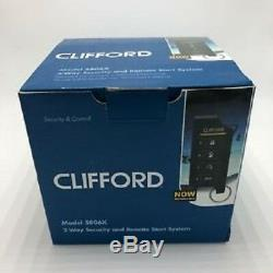 Clifford 5806X 2-Way Paging Car Alarm Vehicle Security and Remote Start System
