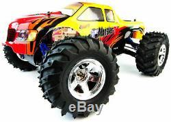 Conquistador Nitro RC Radio Remote Control Monster Truck Car