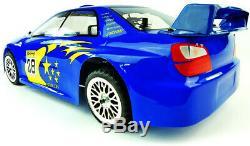Cyclone Pro Nitro Radio Control RC Remote Car Subaru Style Version