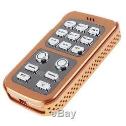 Dual 400W 18Tone Car Alarm Police Siren Horn Speaker + MIC Wireless Remote 12V