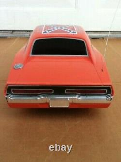 Dukes of Hazzard BIG General Lee Radio Remote Control RC 1/10 Scale Car TESTED