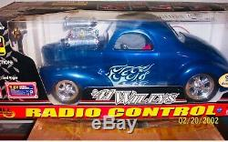 EZTEC Fast Lane Remote Radio Control'41 Willys R/C Toy Car 16 Scale No. 95207