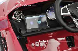 Electric 12V Kids RC Ride On Car with Radio Remote MP3 Mercedes SL65 AMG Pink
