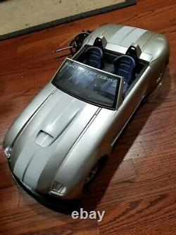 FOR PARTS New Bright Ford Shelby Cobra 1/6 scale Remote Radio Control Car 49 MHz