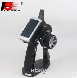 FS-iT4S 4CH Remote Control Sensor RC Boat Cars 2.4G Radio System iA4B Receiver
