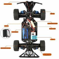 FUNTECH RC Car High Speed Remote Control 1/18 Scale 2.4 Ghz Radio Fast 30+ MPH