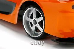 Fast & Furious Mazda RX-7 RC Car with Radio Remote Control, 2.4 GHz