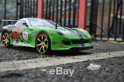 Ferrari GTO Style 4WD Radio Remote Control Car Drift Car 110 Scale kids 6+
