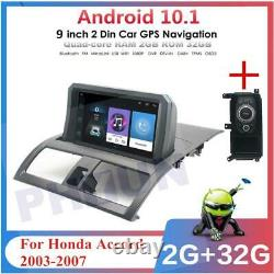 For Honda Accord 2003-2007 9 Car Stereo Radio Android 10.1 2+32GB Remote Mouse