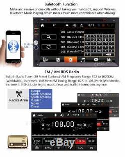 Free Wireless Backup Camera & Remote Control+ 7 Wince Double Din Car Radio i