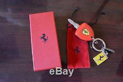 Genuine Authentic FERRARI ENZO KEY FOB Remote Car Key Chain