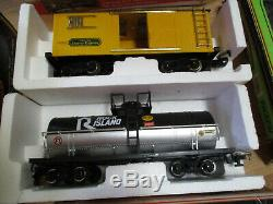 Great New Bright Express wireless remote control TRAIN extra cars / tracks