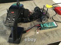 Hpi sprint 2 drift car, rc car radio controlled race car lipo remote