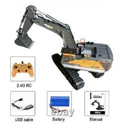 Huina 1592 RC Excavator 1/14 Radio Controlled Truck 2.4G Remote Control Car