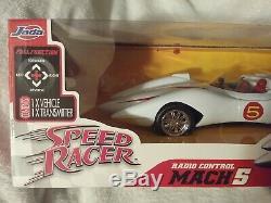 JADA 2008 SPEED RACER Mach 5 Radio Control Remote Control 27MHZ 11 NEW IN BOX