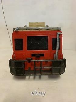 K. K. MATSUSHIRO SUPER RADIO TRON 4x4 VINTAGE REMOTE CONTROL CAR & Controller
