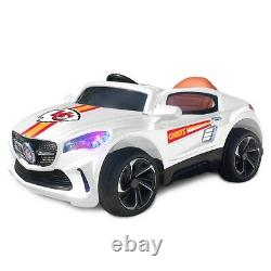 Kansas City Chiefs Ride On Ultimate Sports Car With Remote Control & Radio Kids