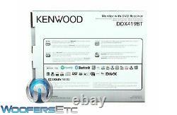 Kenwood Ddx419bt Car Stereo DVD 6.2 CD Usb Bluetooth Remote Touchscreen Radio
