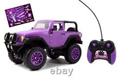 Kids Remote Radio Control Jeep Truck Car Purple Girl Gift RC Toy Gift New