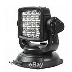 LED Searchlight Marine Boat Spotlight Truck Car Parts Wireless Remote Control