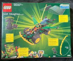 LEGO 5599 RADIO REMOTE CONTROL CAR RACERS 294 pcs 2001 VINTAGE NEW SEALED