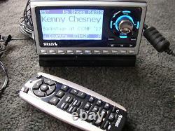 LIFETIME SUB Guaranteed+ SIRIUS Sportster SP4 satellite radio WithCar KIt, Remote