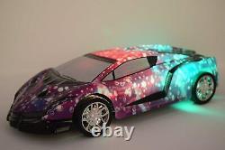 Lamborghini Rainbow Look Radio Remote Control Car LED Under Light
