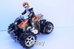Large 1/12 Atv Quad Motorcycle Radio Remote Control Car Rc Car Fast Speed