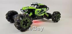 Large Fast Remote Radio Control RC Car Monster Truck Big Wheel Kid Toy 2.4G UK
