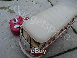 Large German Camper Van 1/16 Radio Remote Control Car Special Edition