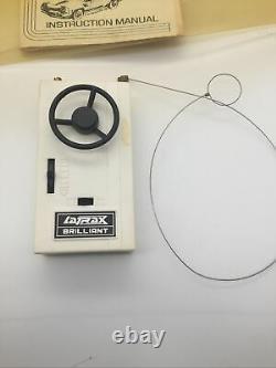 Latrax Radio Controlled Vintage Formula FireBird White And Blue Remote RC Car