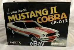 Latrax Radio Controlled Vintage Mustang II Cobra Black And Gold Remote RC Car