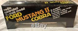 Latrax Radio Controlled Vintage Mustang II Cobra White And Black Remote RC Car