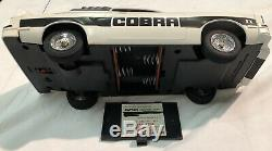 Latrax Radio Controlled Vintage Mustang II Cobra White And Black Remote RC Car