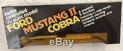 Latrax Radio Controlled Vintage Mustang II Cobra White And Gray Remote RC Car