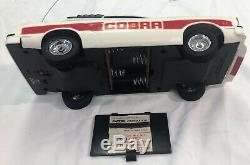 Latrax Radio Controlled Vintage Mustang II Cobra White And Red Remote RC Car