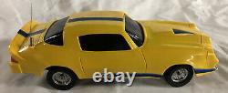 Latrax Vintage Radio Remote Controlled Camaro Z28 Rc Car Yellow and Blue