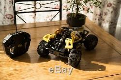 Lego Dirt Crusher Hot Flame Racers Rc 8369 Yellow Radio Remote Control Racer Car