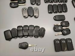 Lot Of 61 Oem Car Fob Keys Keyless Remote