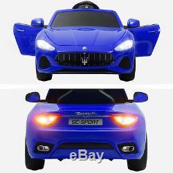 Maserati Gran Cabrio 12V Electric Kids Ride On Toy Car withRemote Control & Radio