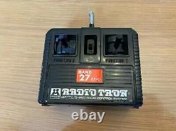 Matsushiro Toyota Land Cruiser -The Winch 4WD Remote Control Radio Tron Car 1984