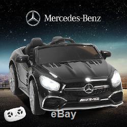 Mercedes SL65 Electric 12V Kids Ride on Toy Rocking Car Remote Control MP3&Radio